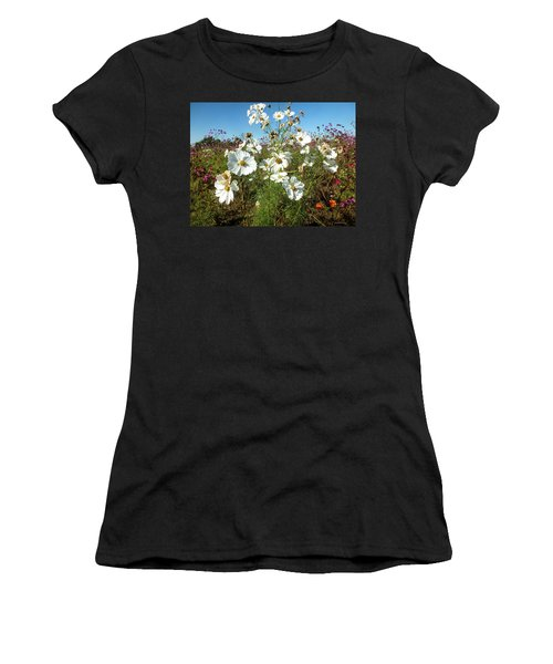 Wildflower Mania Women's T-Shirt (Athletic Fit)