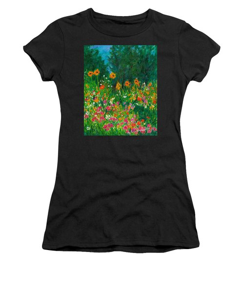Wildflower Rush Women's T-Shirt (Athletic Fit)
