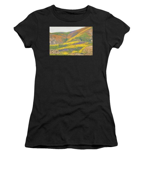 Wildflowers At The Summit Women's T-Shirt