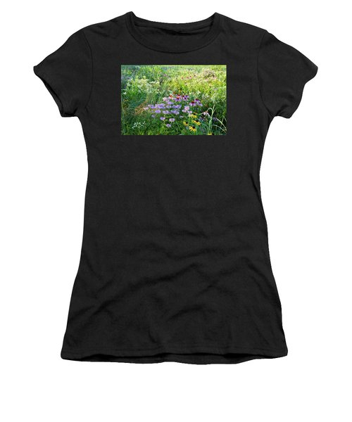 Wildflowers In Moraine Hills State Park Women's T-Shirt (Athletic Fit)