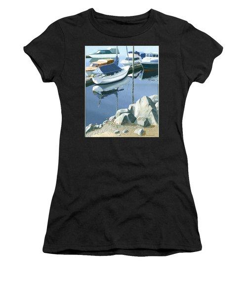 Wildflowers On The Breakwater Women's T-Shirt