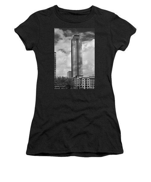 Williams Tower In Black And White Women's T-Shirt