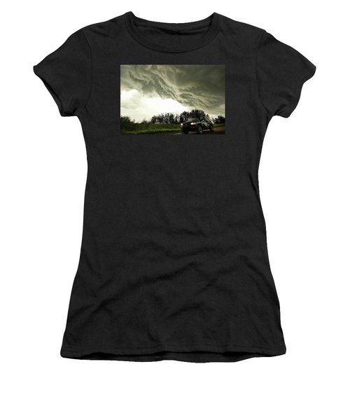 Willowbrook Beast Women's T-Shirt (Junior Cut) by Ryan Crouse