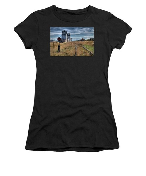 Wilsall Grain Elevators Women's T-Shirt (Athletic Fit)