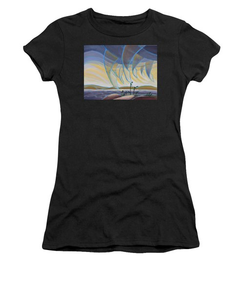 Wind And Rain Women's T-Shirt