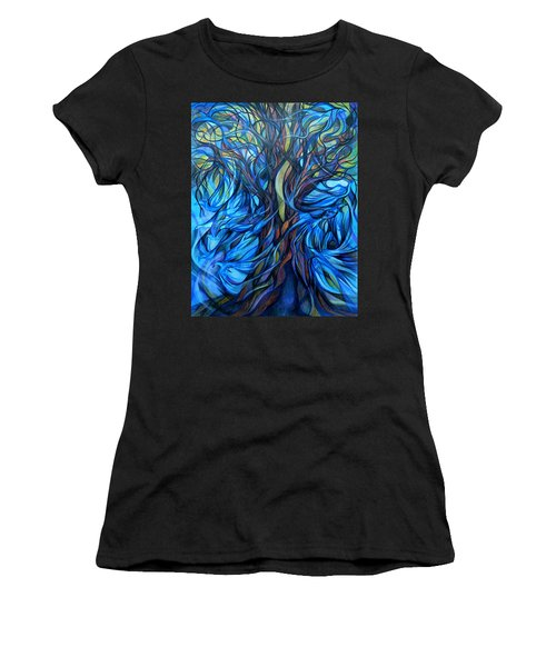 Wind From The Past Women's T-Shirt (Athletic Fit)