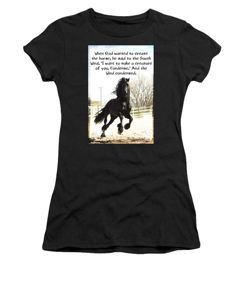 Wind In Your Mist Women's T-Shirt (Athletic Fit)
