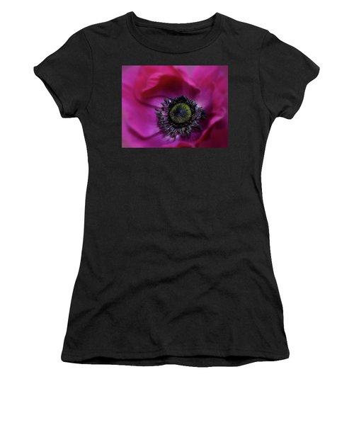 Windflower Women's T-Shirt (Athletic Fit)