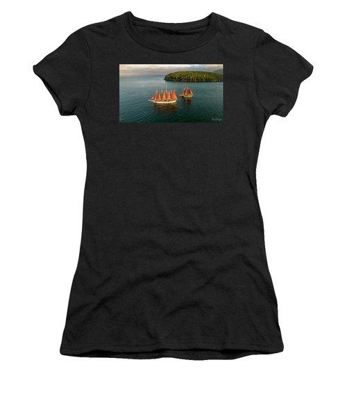 Windjammer Cruises  Women's T-Shirt