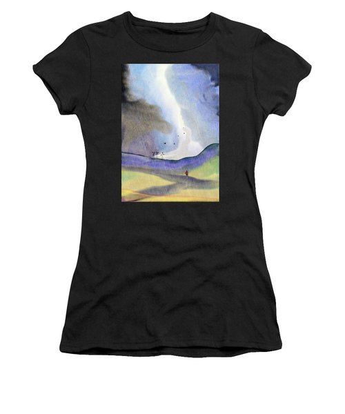Windmills Of The Mind Women's T-Shirt (Athletic Fit)