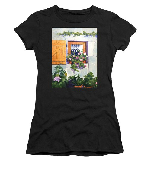 Window At St Saturnin Women's T-Shirt (Athletic Fit)