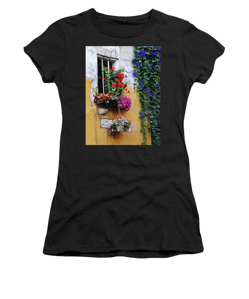 Window Garden In Arles France Women's T-Shirt (Athletic Fit)