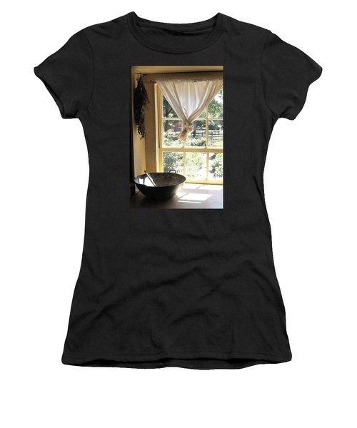 Window On Yesterday Women's T-Shirt (Athletic Fit)