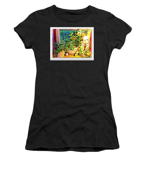 Window Plant Women's T-Shirt (Athletic Fit)