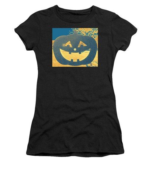 Window Pumpkin #2 Women's T-Shirt