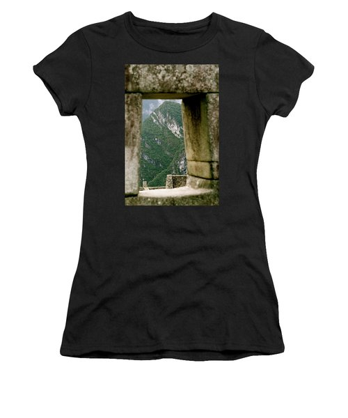 Window To The Gifts Of The Pachamama Women's T-Shirt