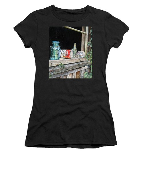 Window To The Past Women's T-Shirt (Athletic Fit)