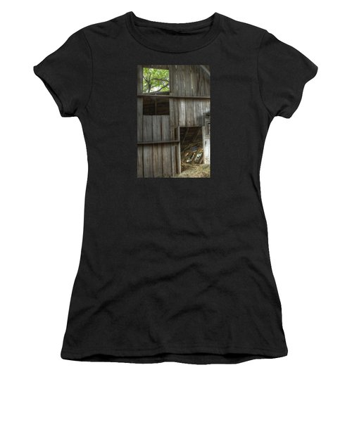 Window To The Present Women's T-Shirt (Athletic Fit)