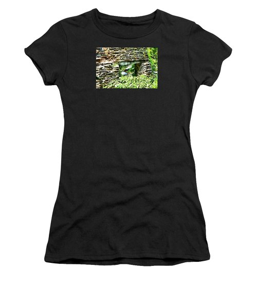 Window View Of Sope Creek Women's T-Shirt (Athletic Fit)