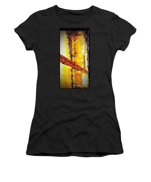 Women's T-Shirt (Junior Cut) featuring the photograph Window by William Wyckoff