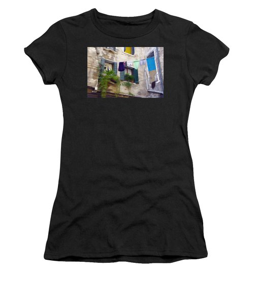 Windows Of Venice Women's T-Shirt (Athletic Fit)