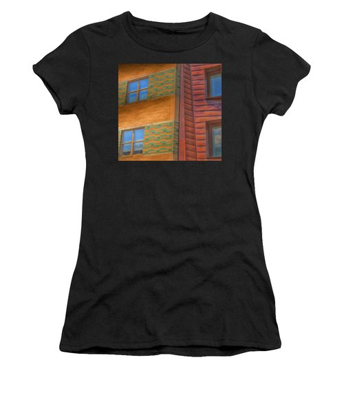 Windowscapes Women's T-Shirt (Athletic Fit)