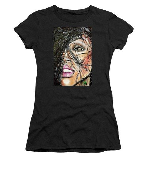 Windy Daze Women's T-Shirt (Athletic Fit)