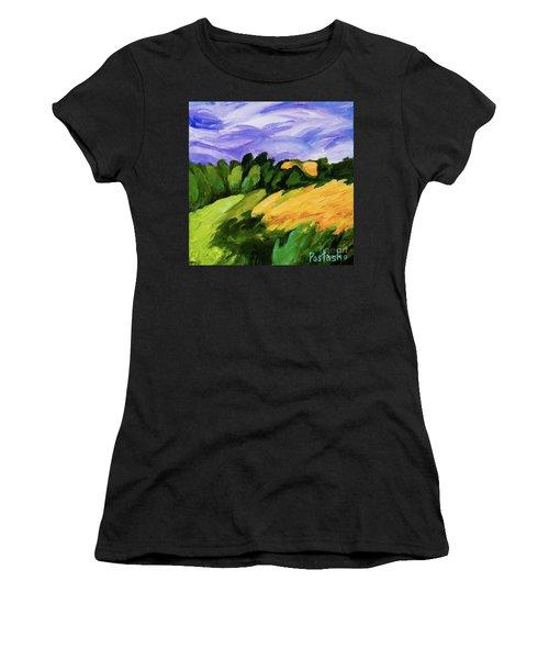 Windy Women's T-Shirt (Junior Cut) by Igor Postash