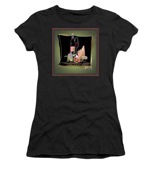 Wine And Cheese Women's T-Shirt