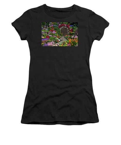 Wine Celler Gates  Women's T-Shirt