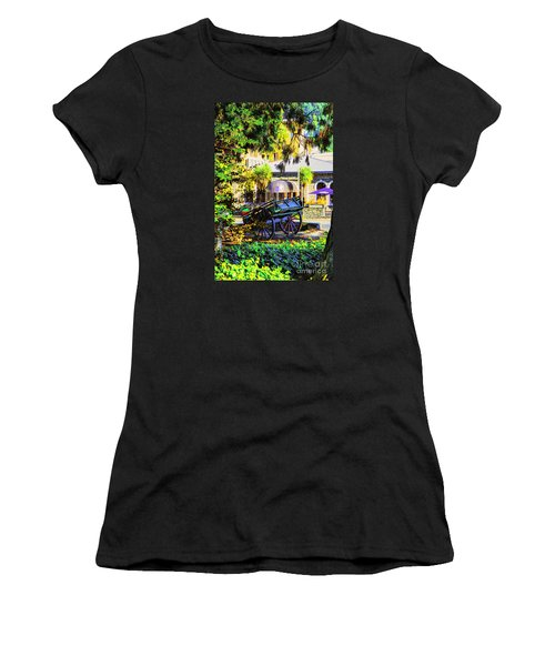 Wine Wagon Women's T-Shirt (Athletic Fit)