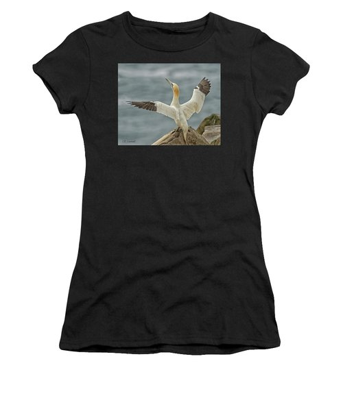 Wing Flap Women's T-Shirt (Athletic Fit)