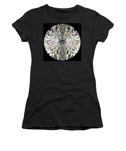 Winged Praying Figure Kaleidoscope Women's T-Shirt