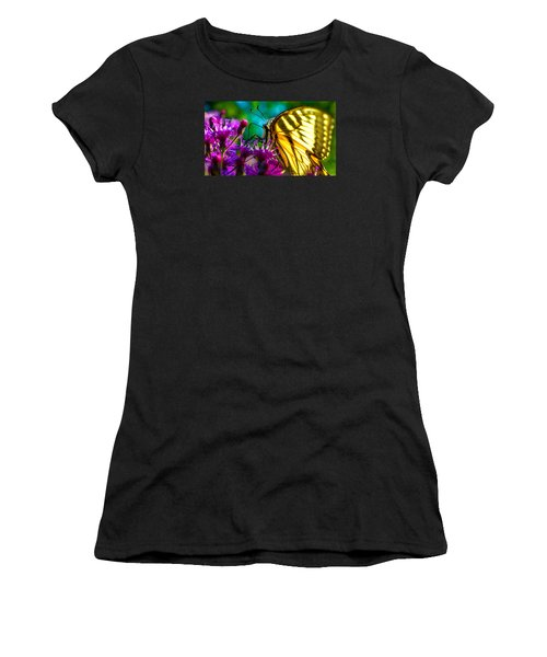 Women's T-Shirt (Junior Cut) featuring the photograph Wings Of A Tiger by Brian Stevens