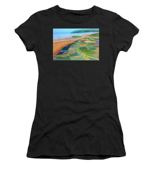Wings Over Grand Pre' Women's T-Shirt (Athletic Fit)