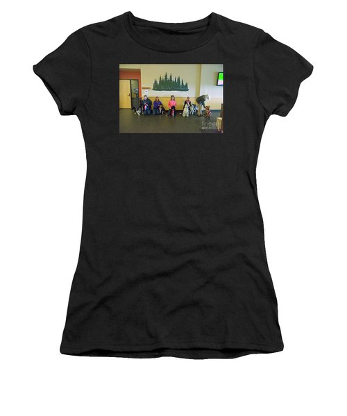 Women's T-Shirt featuring the photograph Winners Circle by Fred Stearns