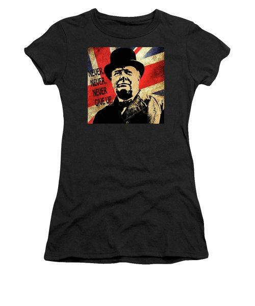 Winston Churchill 2 Women's T-Shirt
