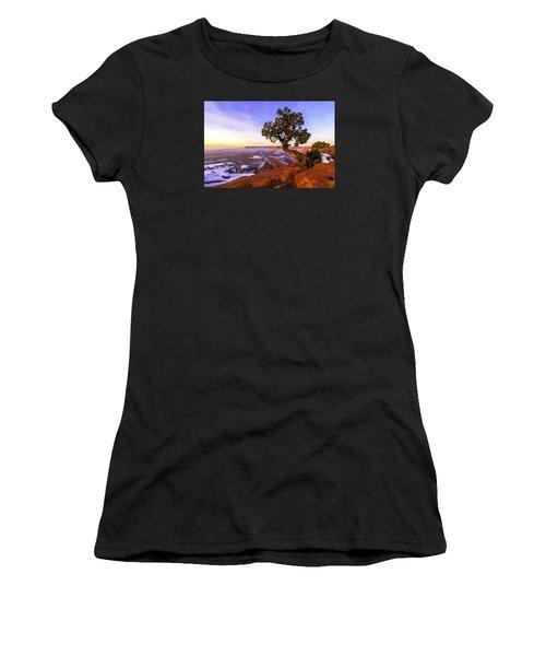 Winter At Dead Horse Women's T-Shirt