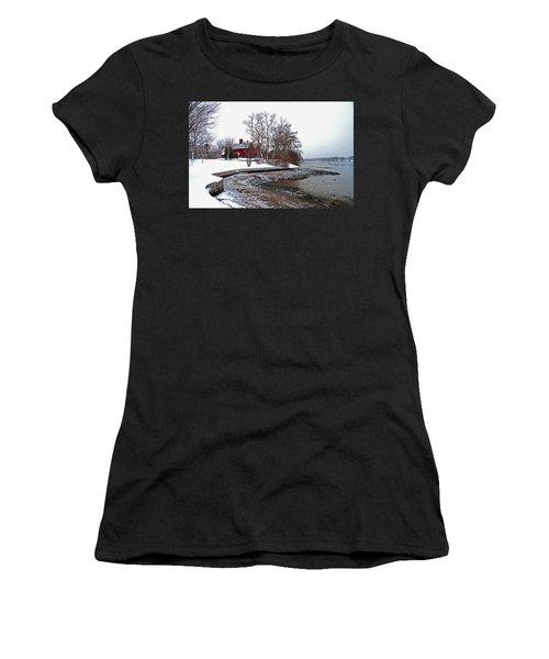 Winter At Perkins House  Women's T-Shirt