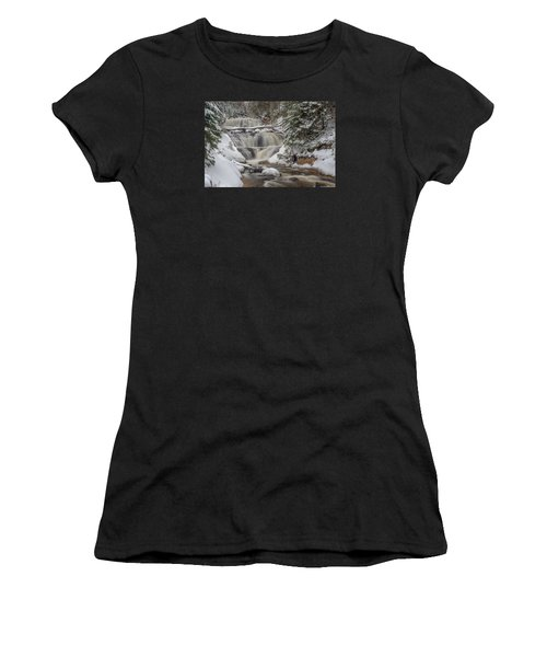 Winter At Sable Falls Women's T-Shirt (Athletic Fit)