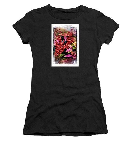 Winter Berries Women's T-Shirt