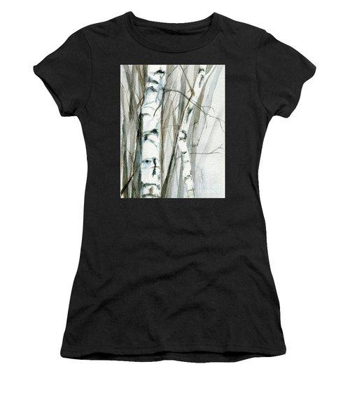Winter Birch Women's T-Shirt