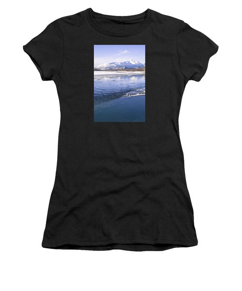 Winter Blues Women's T-Shirt (Athletic Fit)