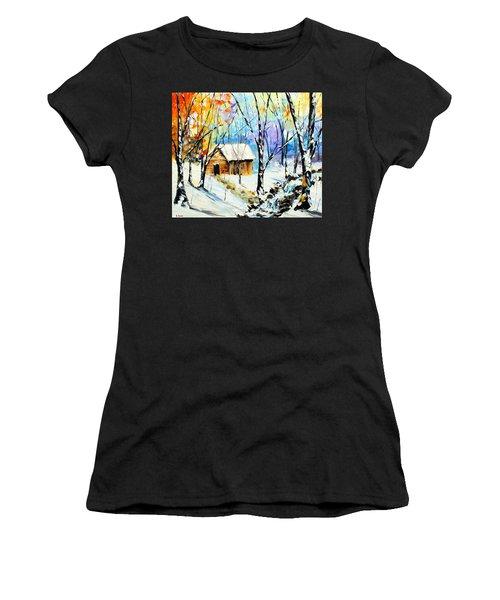 Winter Colors Women's T-Shirt