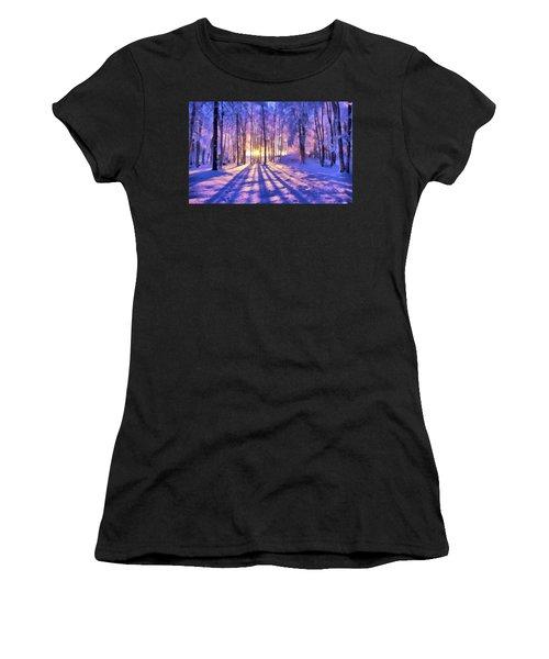 Winter Fairy Tale Women's T-Shirt
