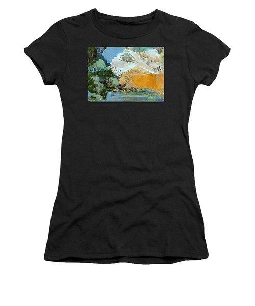 Winter Fantasy Women's T-Shirt (Junior Cut) by Nancy Kane Chapman
