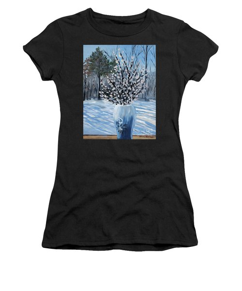 Winter Floral Women's T-Shirt