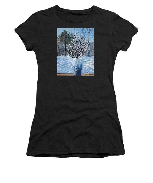 Winter Floral Women's T-Shirt