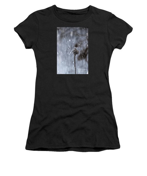Winter Flower Women's T-Shirt (Athletic Fit)