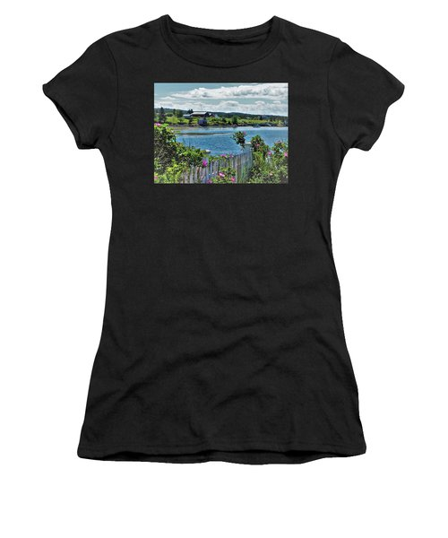 Winter Harbor Women's T-Shirt (Athletic Fit)